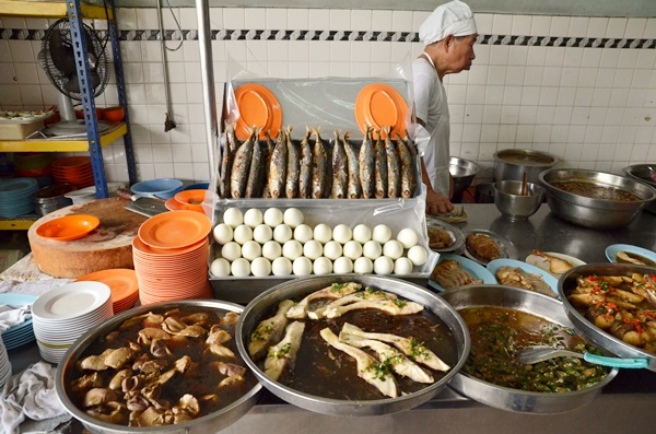 Spread of Teochew Dishes