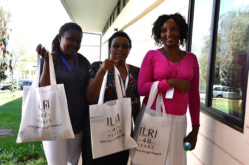 ILRI staff after attending the conference