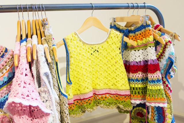 katie Jones Knitwear London Fashion Week SS15