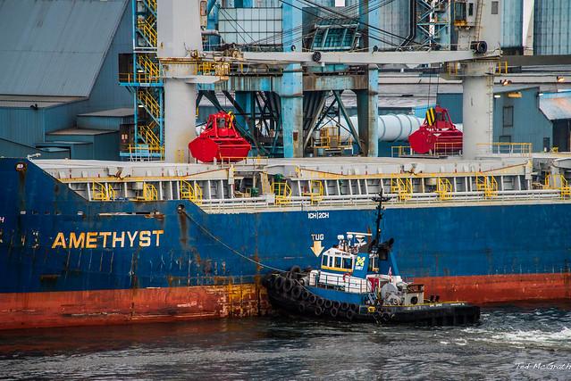 2014 - Alaska Cruise - Vancouver - Amethyst & Smit Spirit