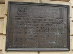 Photo of Natural Mineral Water Baths bronze plaque