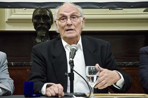 Carlos Saura fue distinguido en la Argentina