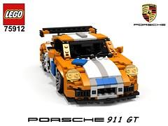 Porsche 911 GT (991) - Lego Nr. 75912 (2015) Recreated