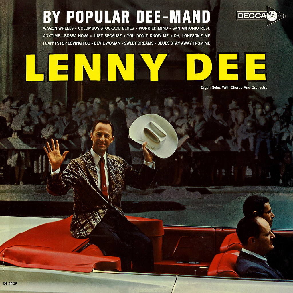 Lenny Dee - DEE-Lightful! Hi-Fi Organ Solos With A Beat
