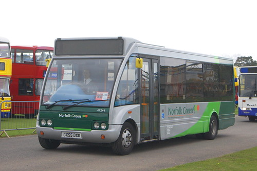 Stagecoach Norfolk Green 47244 GX55 DXO (c) David Bell