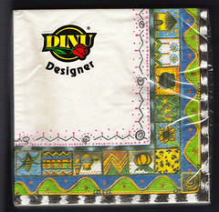 Ethnic Border Napkins by african frames