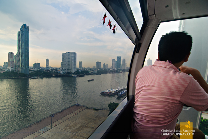 The Ferris Wheel at Bangkok's Asiatique The Riverfront