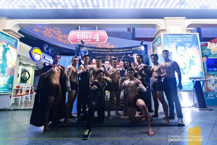 Muay Thai Live at Bangkok's Asiatique The Riverfront