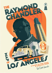 Raymond Chandler map by Paul Rogers and Kim Cooper