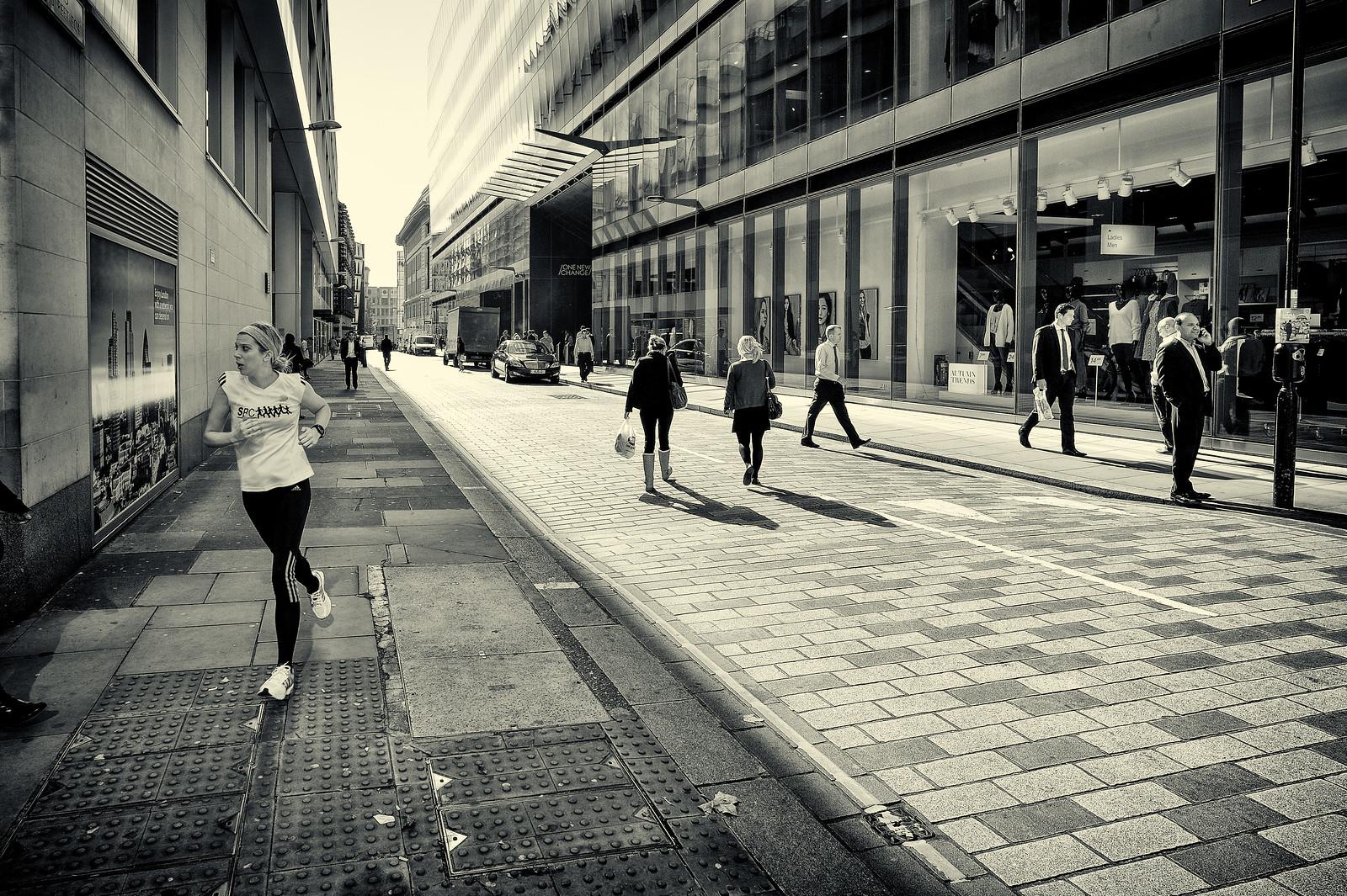 Running from the light