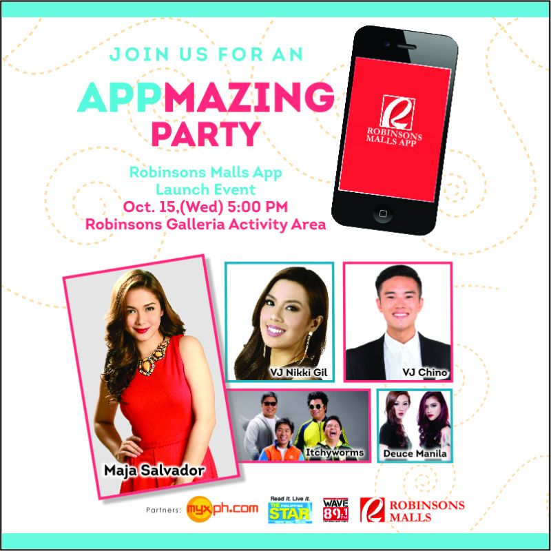 Robinsons Malls App Launch Event + Giveaway