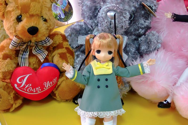 087-琪琪與伊瑪斯餐廳的熊熊布偶-2
