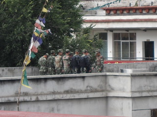 Jokhang Temple Guards