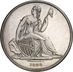 666a USA. 1 dollar 'Gobrecht' 1836
