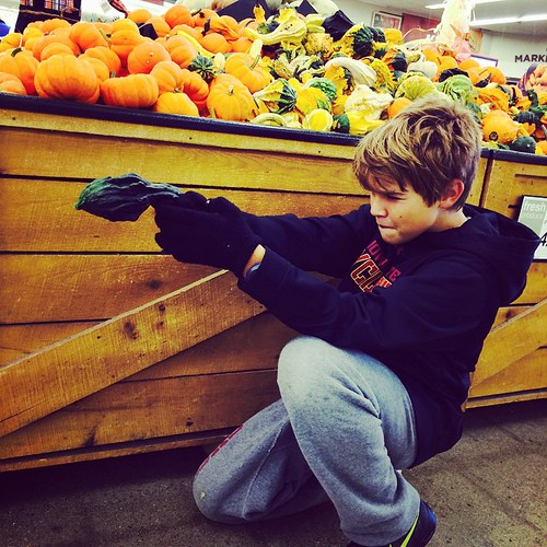 Pew, pew, pew goes the decorative gourd.  Everything is a gun.