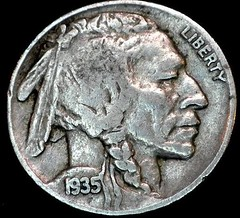 Hobo Nickel Just a Shell obverse