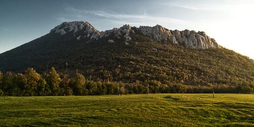 autumn trees sunset mountain fall colors forest landscape colours hiking croatia peak trail