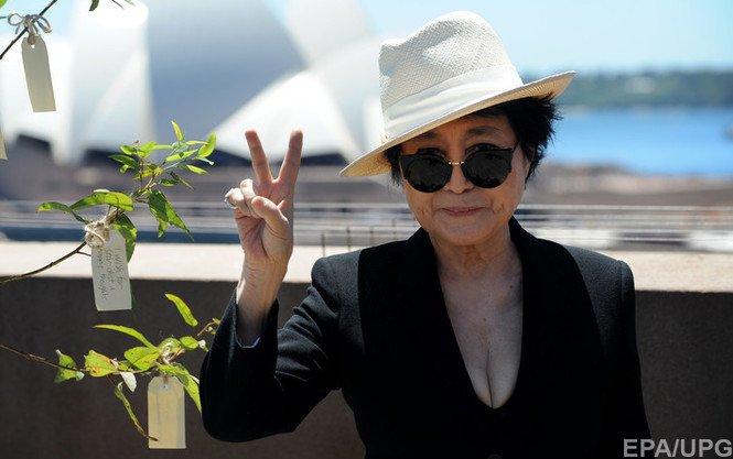 Йоко Оно передала ООН права на песню «Imagine» Джона Леннона