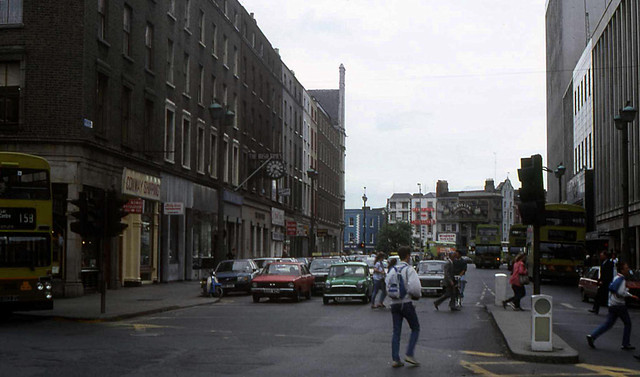D'Olier Street, Dublin, 1988 | Flickr - Photo Sharing!