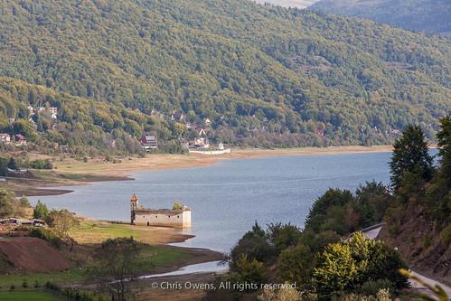 lake mountains church water macedonia balkans orthodox historicbuilding mavrovo