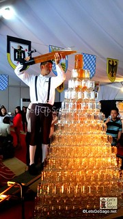 Oktoberfest Overflowing Beer