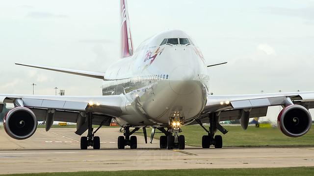 Virgin Atlantic B744