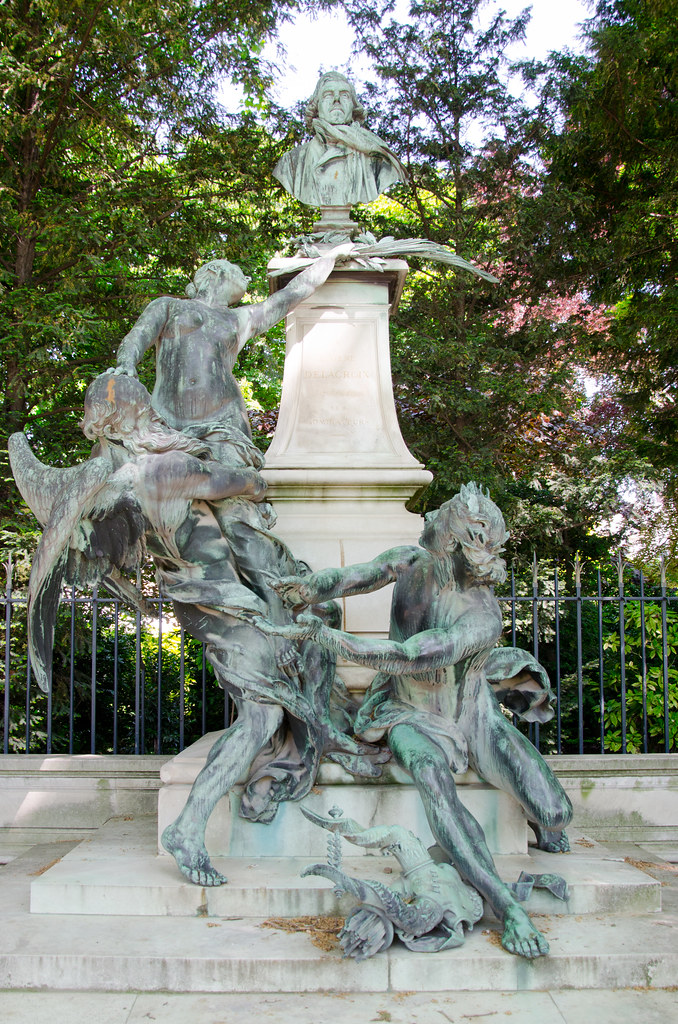 La fontaine Eugène-Delacroix