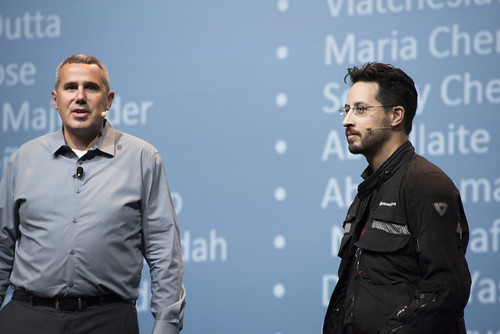 Peter Utzschneider and Stephen Chin, JavaOne Strategy Keynote, JavaOne 2014 San Francisco