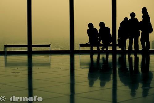 japan reflections tokyo shadows silhouettes roppongihills moritower drmofo sunsetgangoffive