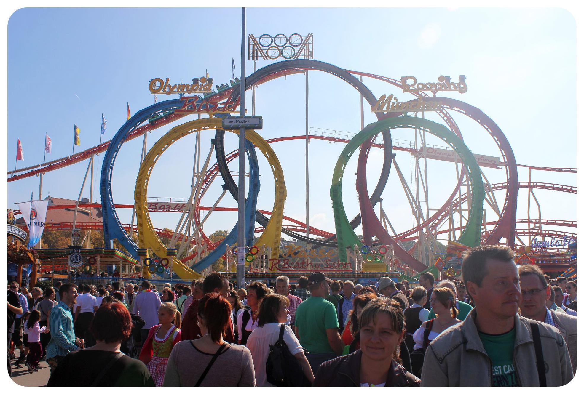 oktoberfest olympic roller coaster