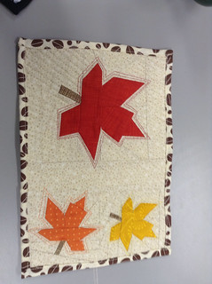 Mug rug for Queensland Quilters exchangr