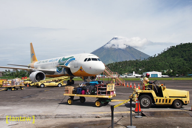Mayon from Legazpi airport