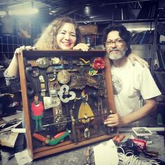 Eu e o Mestre... #RaimundoRodriguez #BlogAuroradeCinemaregistra