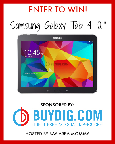Enter the BuyDig Samsung Galaxy Tab 4 Giveaway. Ends 11/4.