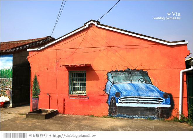 【關廟彩繪村】新光里彩繪村~在北寮老街裡散步‧遇見全台最藝術風味的彩繪村14