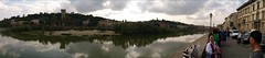 Panorama Arno in Florence
