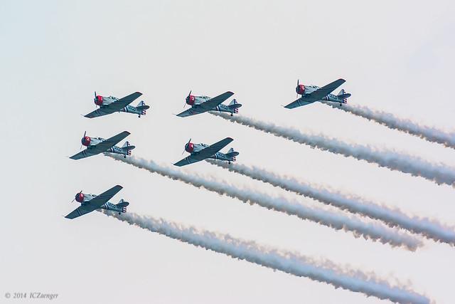 EAA Geico Skytypers 3