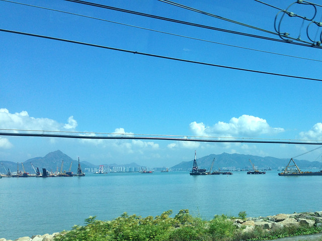 Hong Kong sea