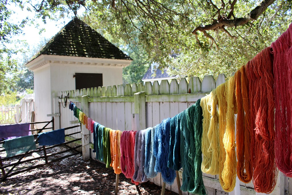 264 Drying Dyeing