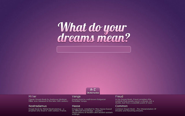What do your dreams mean