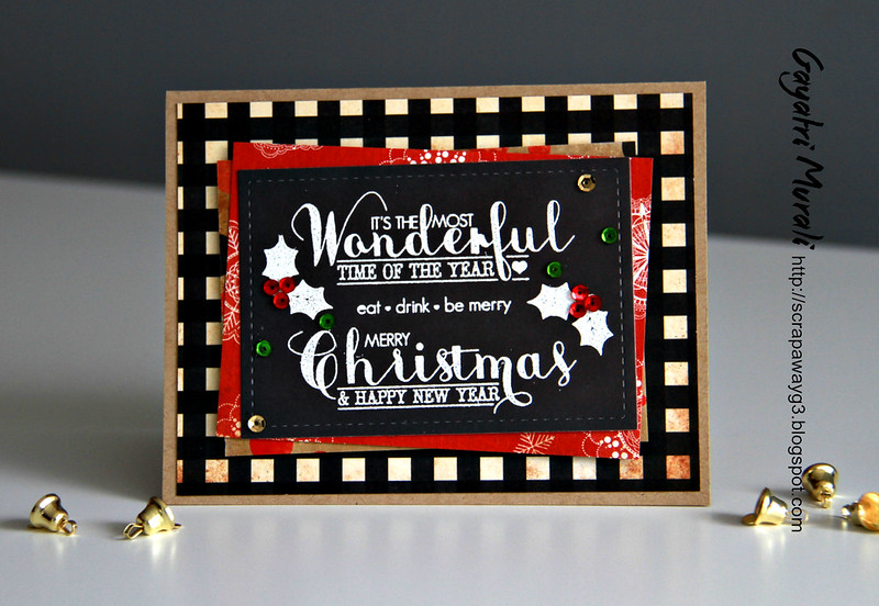 Vintage christmas card 5