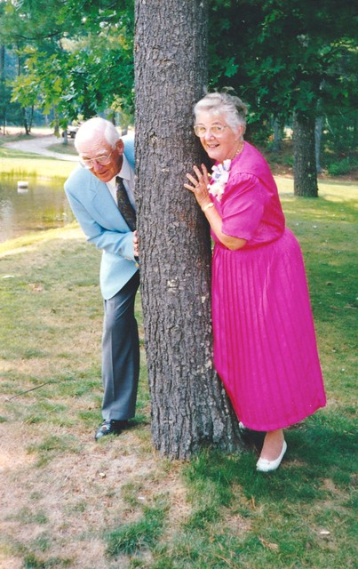 Gramma and Grampa at our wedding 2
