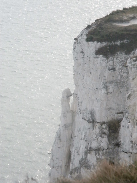 Crumbly cliff