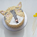Husky Dog Cake - Coco Cake Land