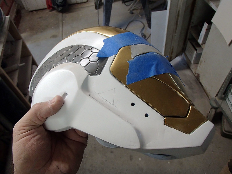 Gemini Helmet Triangles Laid Out