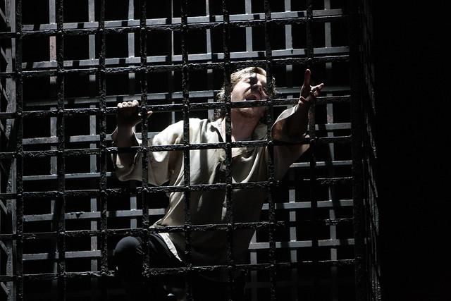 Francesco Meli in I due Foscari, Los Angeles Opera, 2012 © Robert Millard