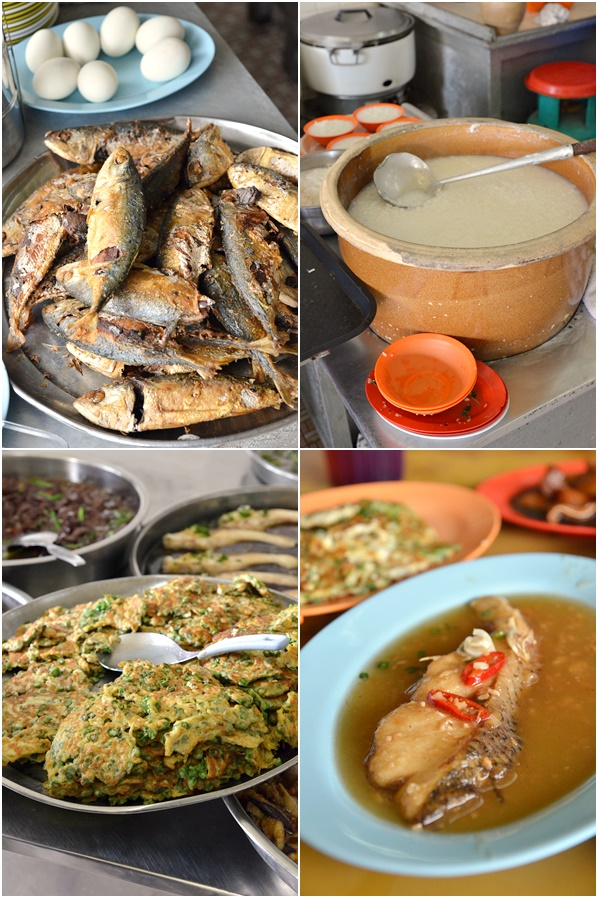 Collage Typical Teochew Dishes