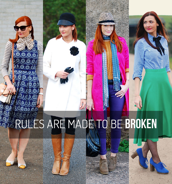 Musings Monday: fashion rules are made to be broken