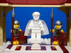 Estatua emperador romano - Custom Print