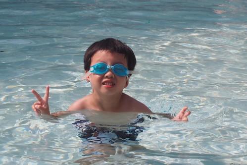 super kid-friendly pool